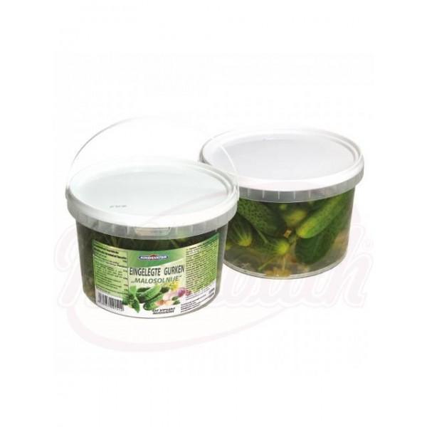 Pepinos poco salados Kindsvater 2200g - Verduras