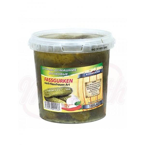 Pepinos de barril, picantes 1kg - Verduras