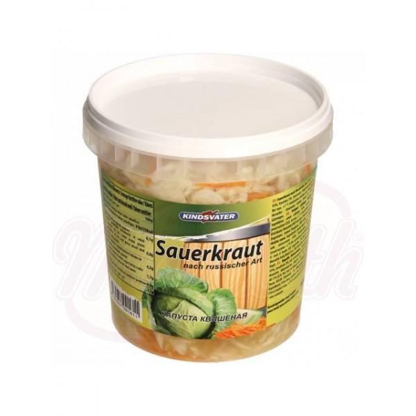 Repollo fermentado casero Kindsvater 1000g - Verduras