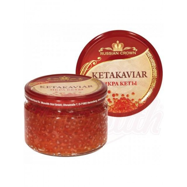 Caviar de salmón chum 250g - Huevas