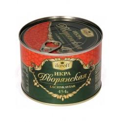 Caviar de salmon rojo Dvoranskaya 454g