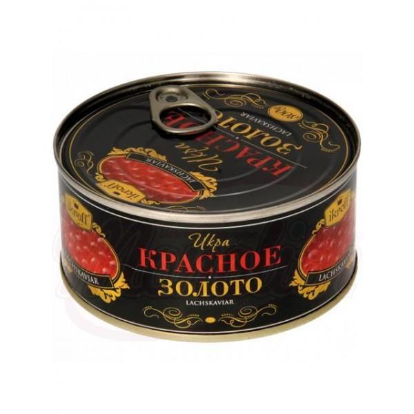 Caviar de salmon rojo Oro Rojo 300g - Huevas