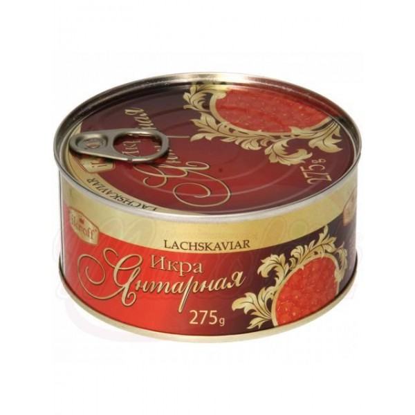 Caviar de salmon rojo Yantarnaya 275g - Huevas
