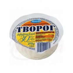 Творог свежий деревенский Милочка 30% жирности 275g