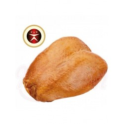 Pechuga de pollo (con hueso): receta letona, sazonada, ahumada en caliente 1 kg