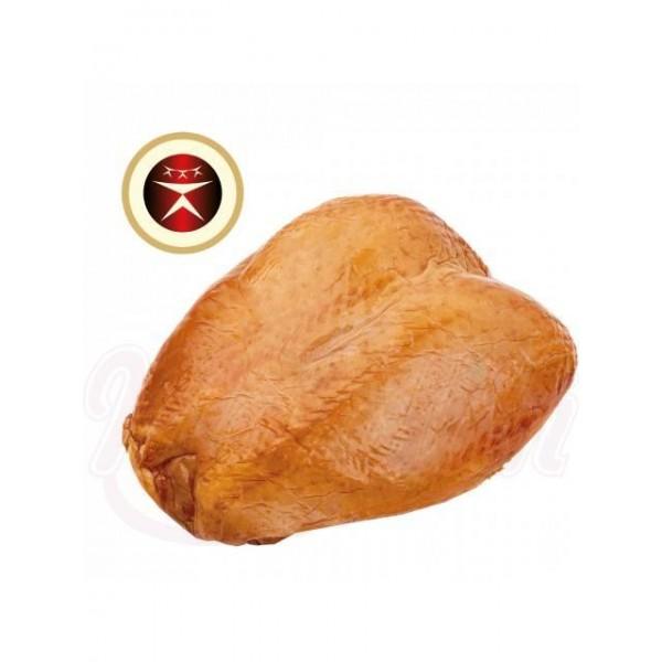 Pechuga de pollo (con hueso): receta letona, sazonada, ahumada en caliente 1 kg - Otros perecederos
