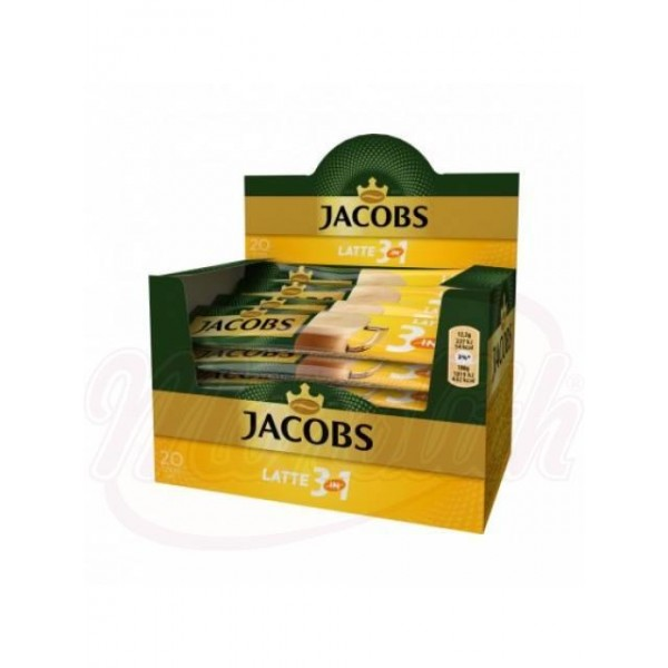 Cafe Jacobs 3in1 Latte  24x12,5g  300 g - Rusia