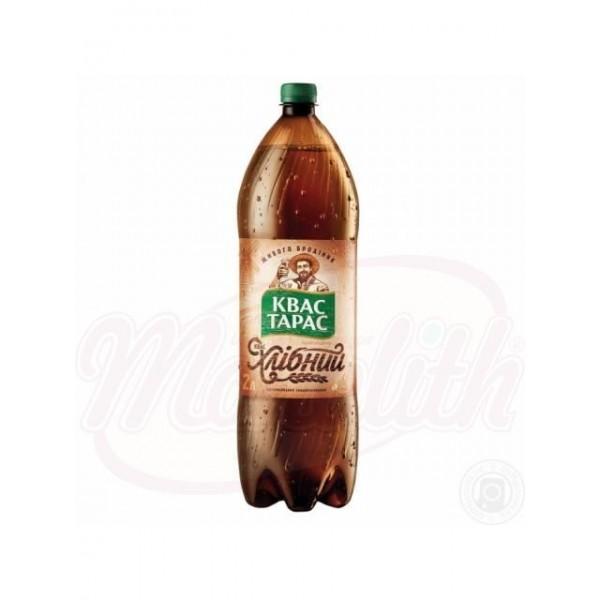 Bebida con gas Kvas Jlebniy Taras 2 L - Ucrania