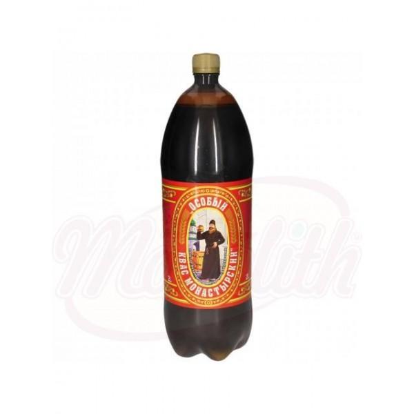 Bebida refrescante carbonatada Kwas Monastyrsky Osobyi 2L - Ucrania
