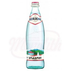 Agua con gas mineral  Borjomi 500 ml