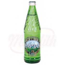 Agua mineral con gas Narzan Plata 0,5 L