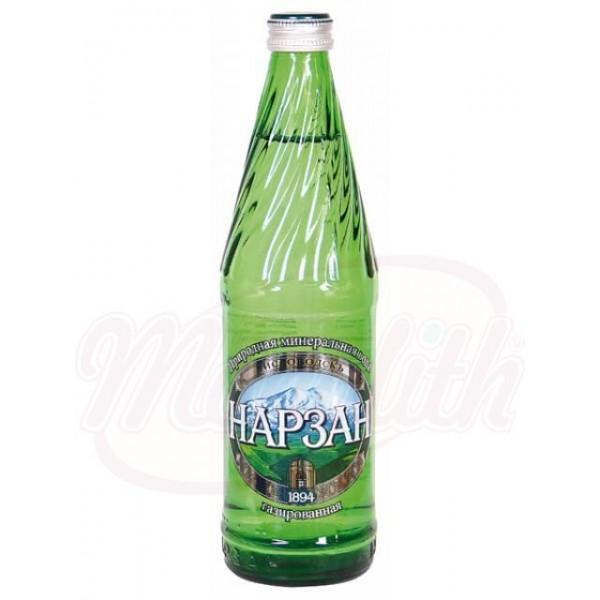 Agua mineral con gas Narzan Plata 0,5 L - Agua