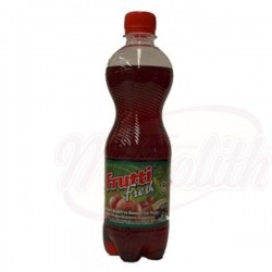 Refresco con gas Frutti Fresh Uva roja 500 ml