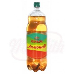 Refresco con gas Limonada con sabor a limón y naranja, 2000ml