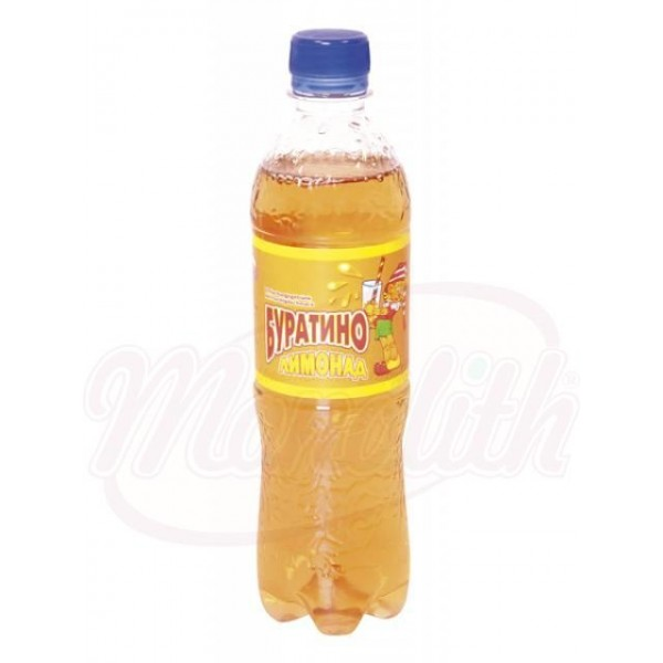Refresco con gas sabor frutas Buratino, 500ml - Alemania