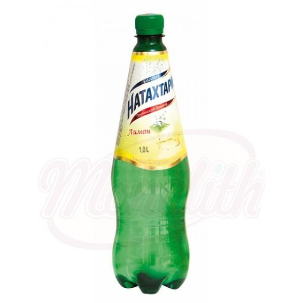 Refresco con gas sabor limón Natajtari, 1000 ml - Georgia