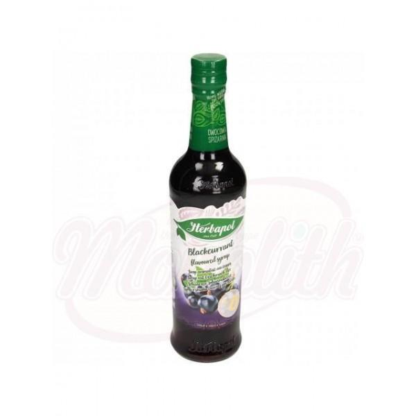 Sirope de arándanos negros Herbapol 420 ml - Polonia