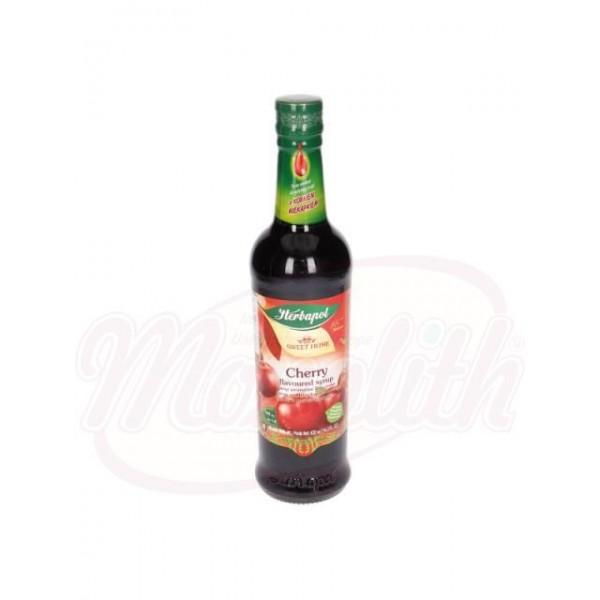 Sirope  de  cereza Herbapol 420 ml - Polonia
