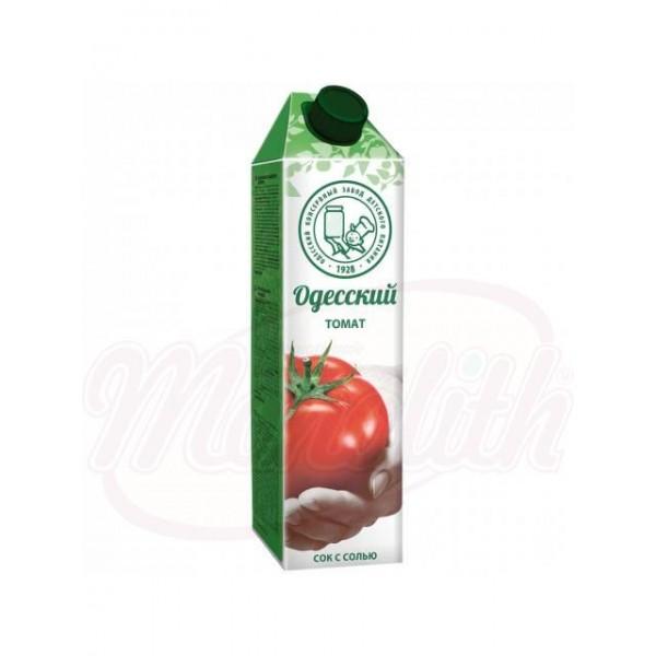 Zumo de tomate  salado Odesskiy 950 ml - Ucrania
