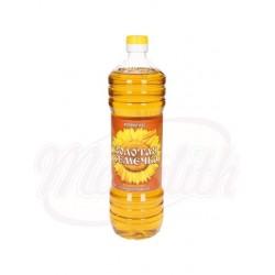 Масло подсолнечное   Золотая семечка 1l