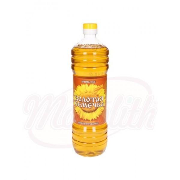 Aceite de girasol Zolotaja Semechka 1L - Rusia