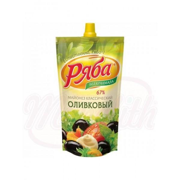 Mayonesa Clásica Oliva Ryaba 420 ml - Rusia