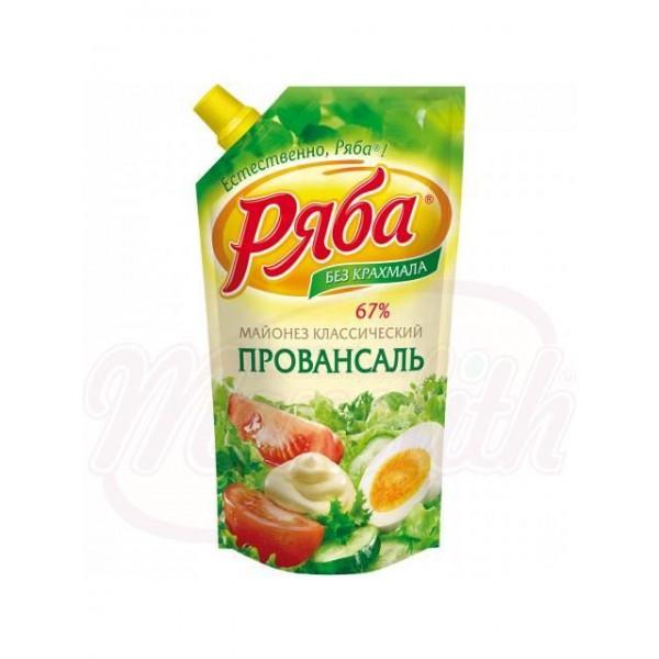 "Майонез ""Ряба-Классический Провансаль""  215 ml - Россия"