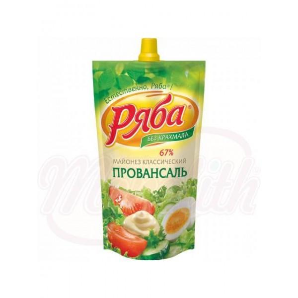 Майонез Ряба -Классический Провансаль 410 g - Россия