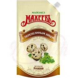 Майонез С перепелиным яйцом 400 ml