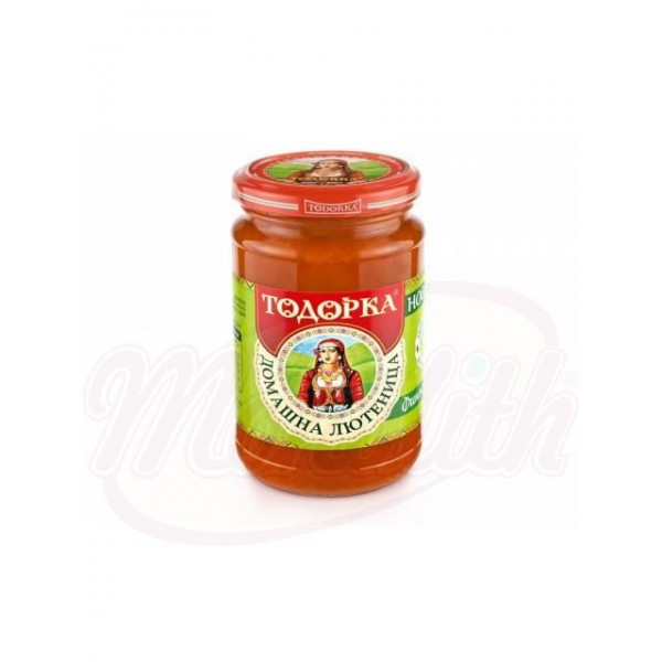 Домашнее овощное пюре Лютеница 310 g - Болгария