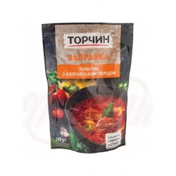 Заправка для борща томатная с болгарским перцем 215г.