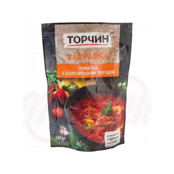 Заправка для борща томатная с болгарским перцем 215г. - Украина