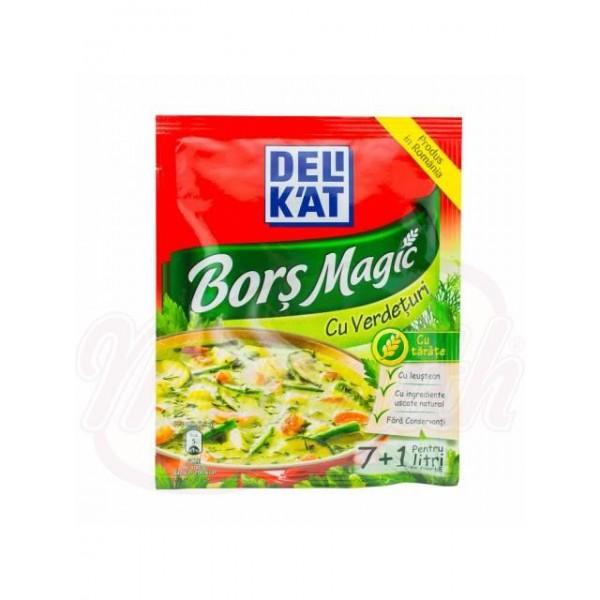 Condimento para sopa Bors con verdura    70 g - Rumanía