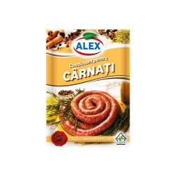 Condimento para salchichas   18 g