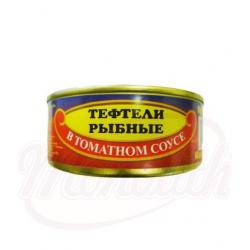 Рыбные тефтели в томатном соусе 240g