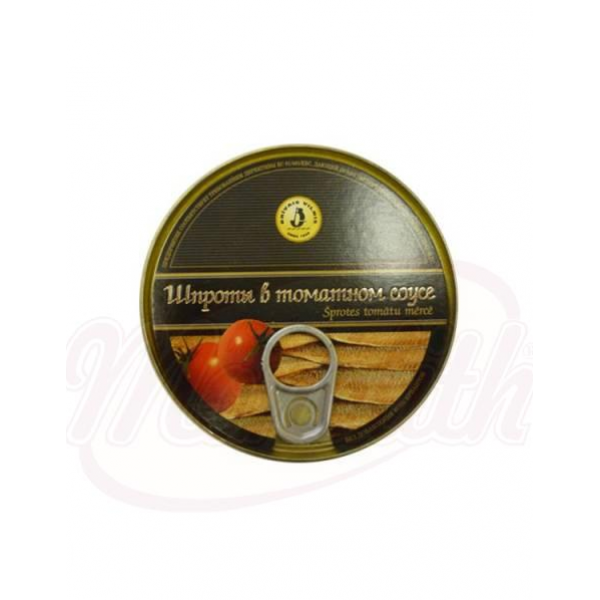 Шпроты в томатном соусе 160g - Латвия