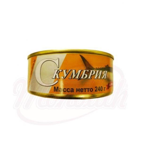 Caballa en aceite vegetal 240g - Letonia