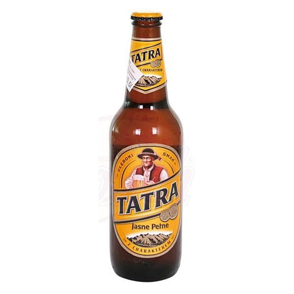 """Cerveza clara """"Tatra"""" 6 vol. 0.5L - Polonia"""