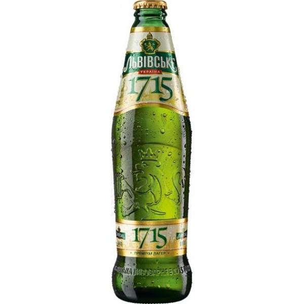 Cerveza Lvivske 1715   4,2   0,45 L - Ucrania