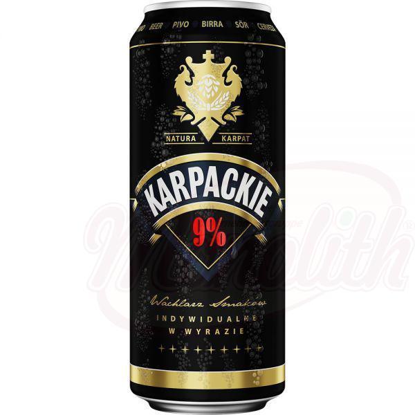 "Cerveza ""Karpackie Negra"" 9,0 alc. 0.5L - Polonia"