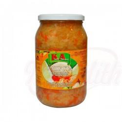 Капуста квашеная с морковью 900 g
