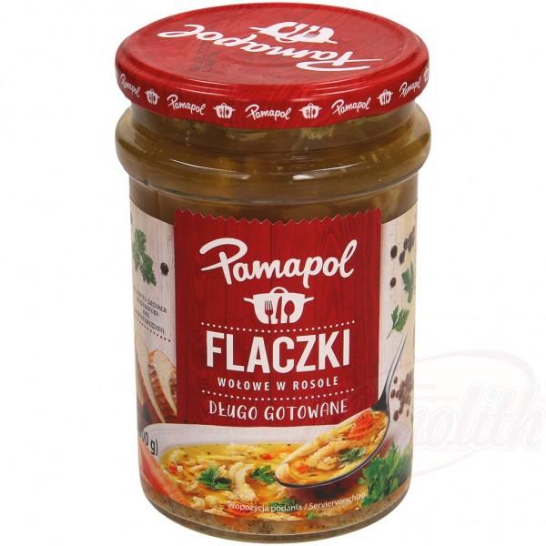 """Callos de ternera polacos con verduras en caldo """"Pamapol"""" 500g - Polonia"""