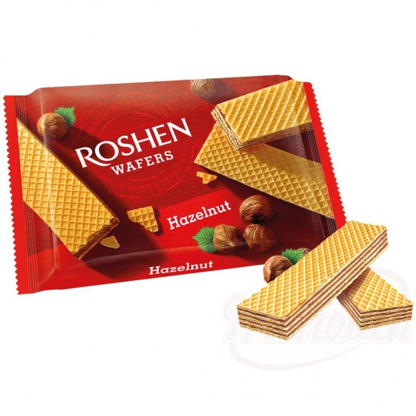 "Barquillos ""Roshen"" con relleno de avellana 72g - Dulces"